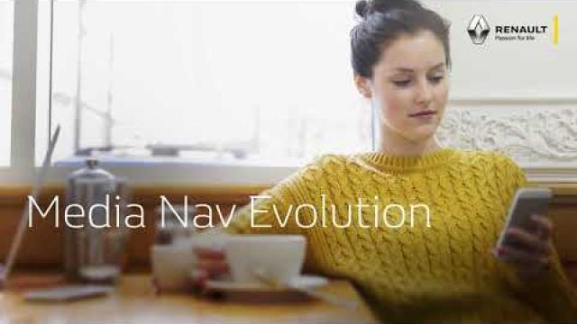 Renault Media Nav Evolution cu Apple CarPlay