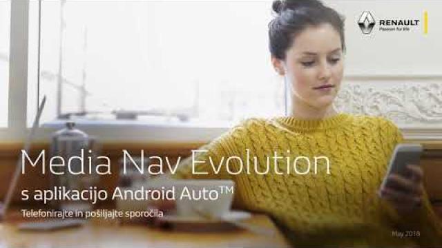 Renault Media Nav Evolution s  aplikacijo Android Auto