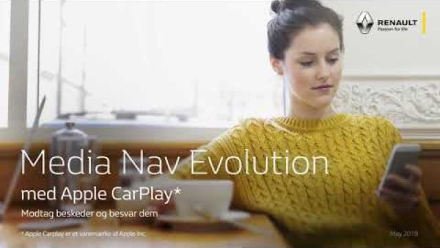 Renault Media Nav Evolution med Apple CarPlay