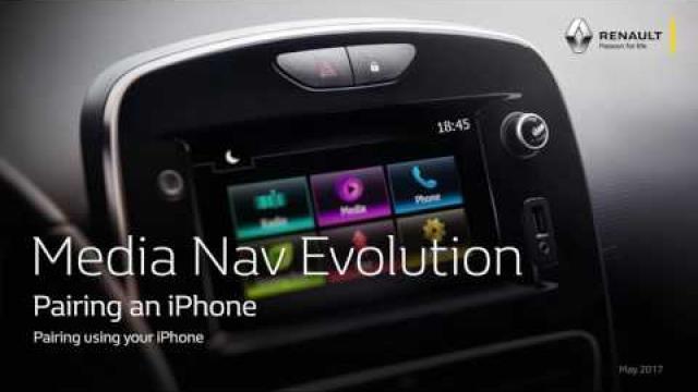 MEDIA NAV EVOLUTION: PAIRING AN IPHONE