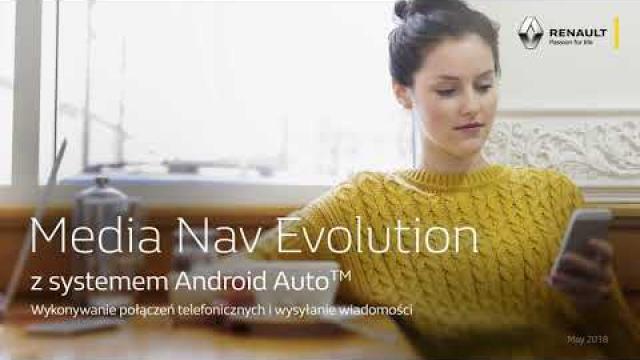 Renault Media Nav Evolution z systemem  Android Auto