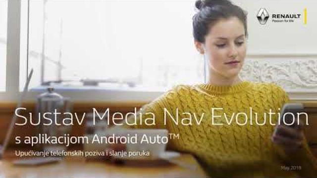 Sustav Renault Media Nav Evolution  s aplikacijom Android Auto