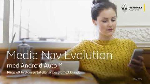 Renault Media Nav Evolution med  Android Auto